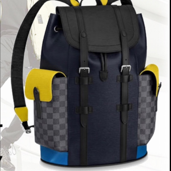Louis Vuitton Damier Graphite Christopher Backpack